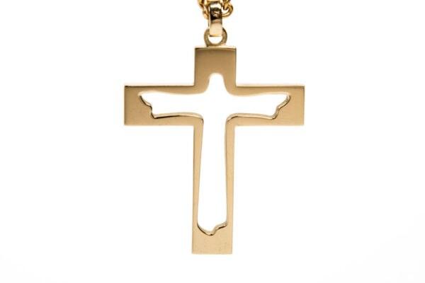Nådekorset -A cross in gold
